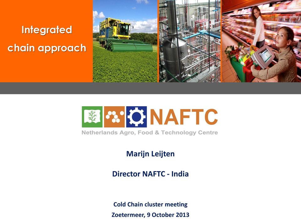 - India Cold Chain cluster