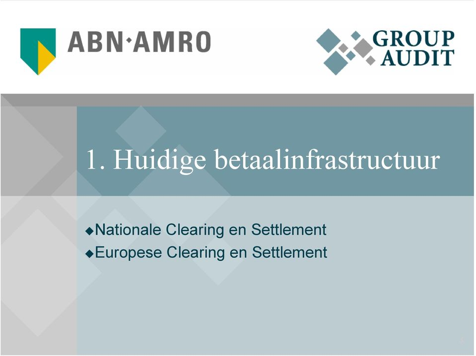 Nationale Clearing en