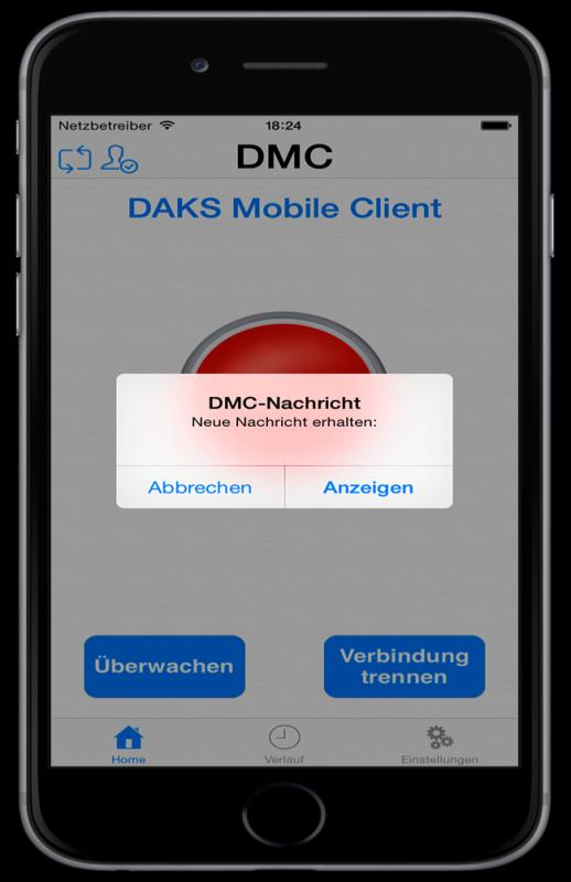 DAKSmed with DAKS Mobile Clients W1-Bd14 HHR 140 Medium