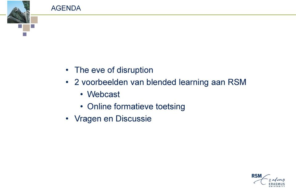learning aan RSM Webcast Online