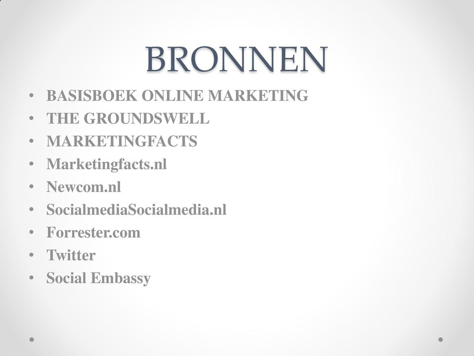 Marketingfacts.nl Newcom.