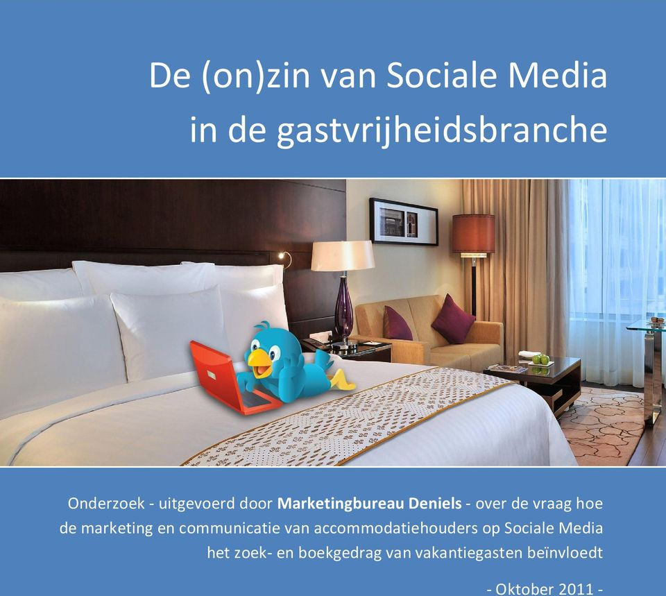 marketing en communicatie van accommodatiehouders op Sociale Media