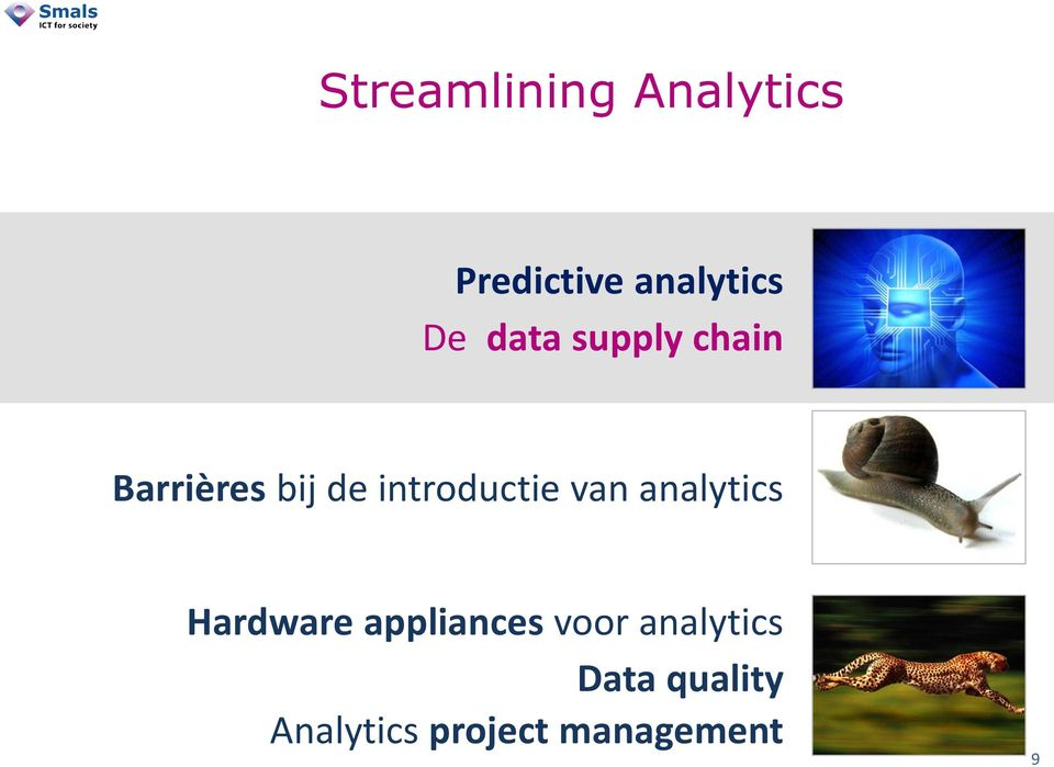 van analytics Hardware appliances voor