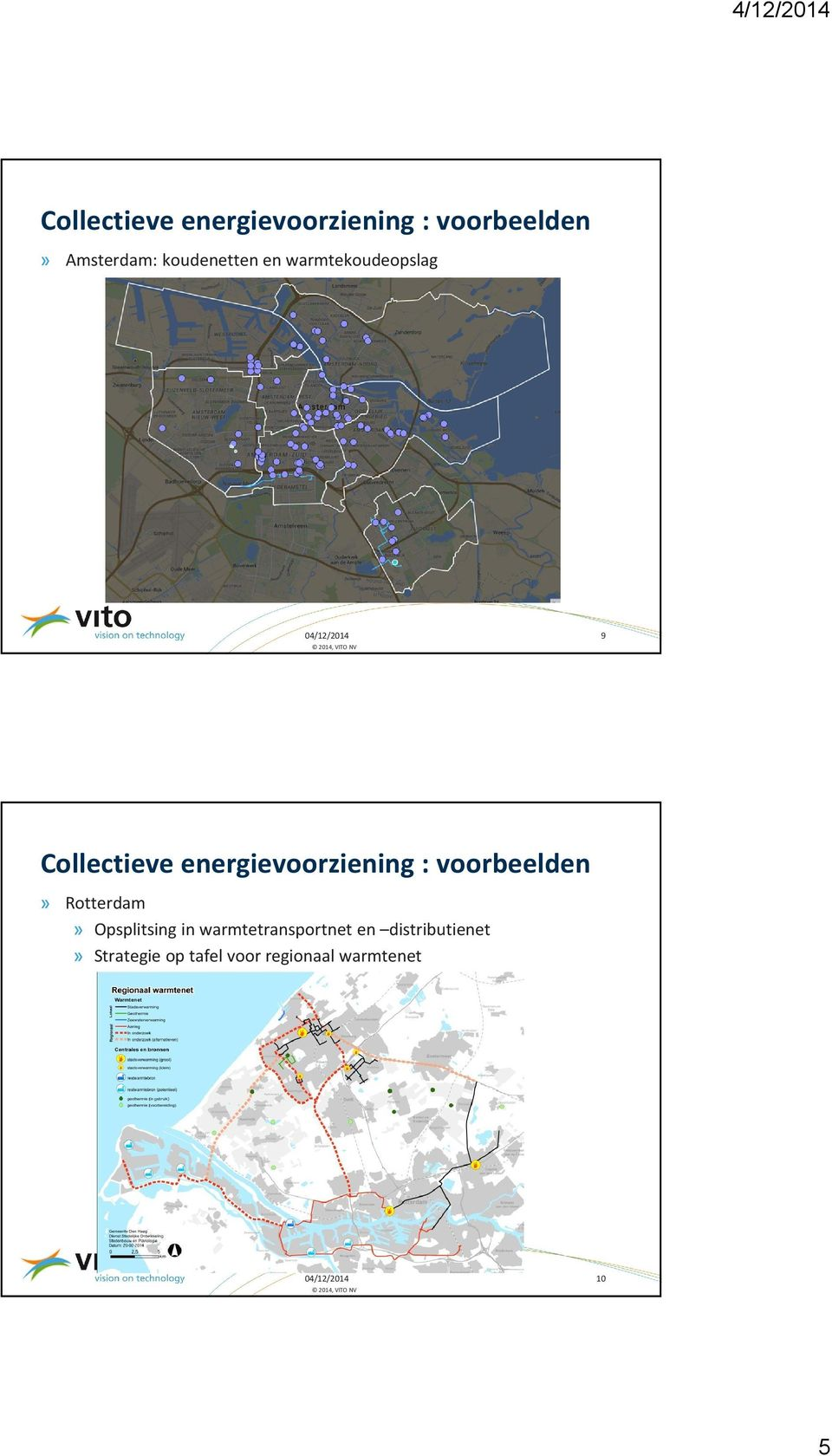 warmtetransportnet en distributienet»