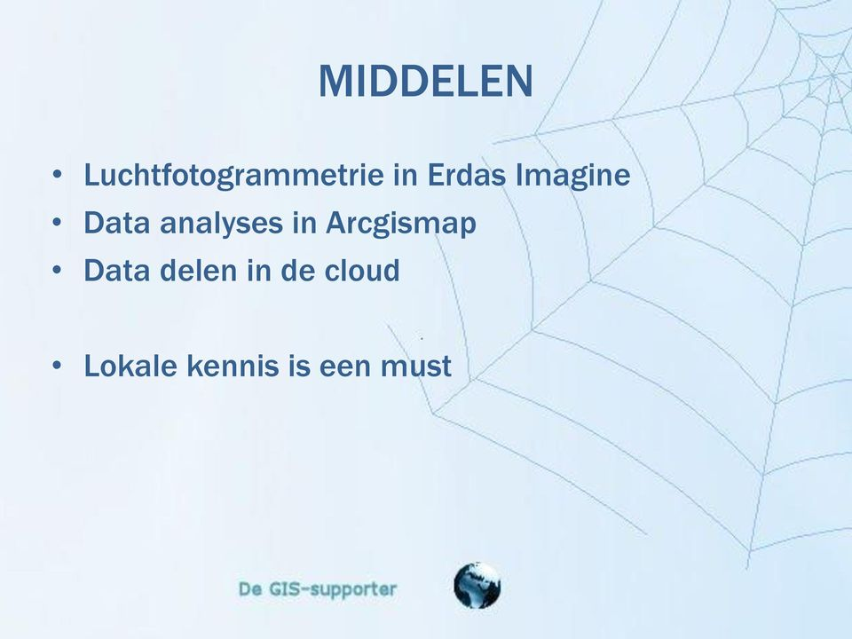 in Arcgismap Data delen in de