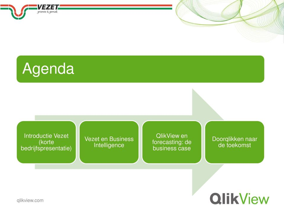 Intelligence QlikView en forecasting: