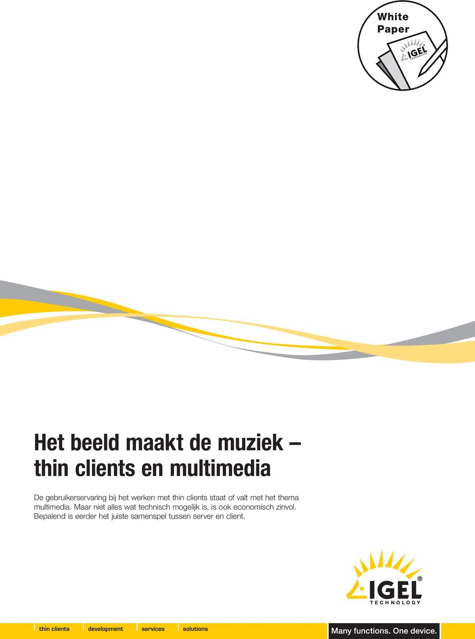 het thema multimedia.