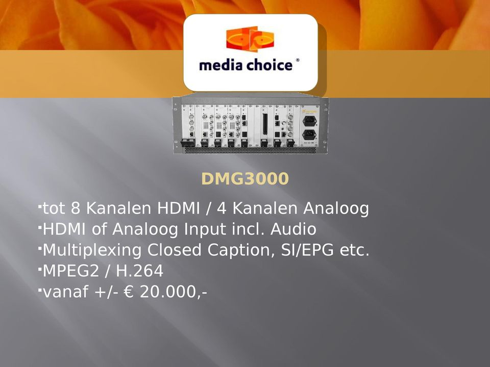 Audio Multiplexing Closed Caption,