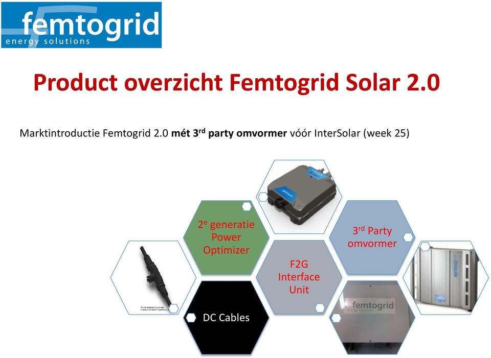 0 mét 3 rd party omvormer vóór InterSolar (week