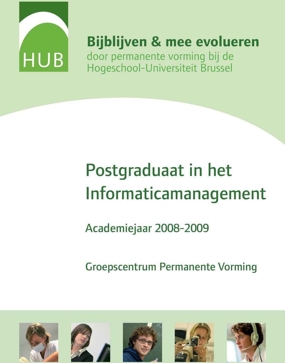 Postgraduaat in het Informaticamanagement