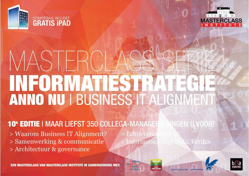 > Waarom Business IT Alignment?