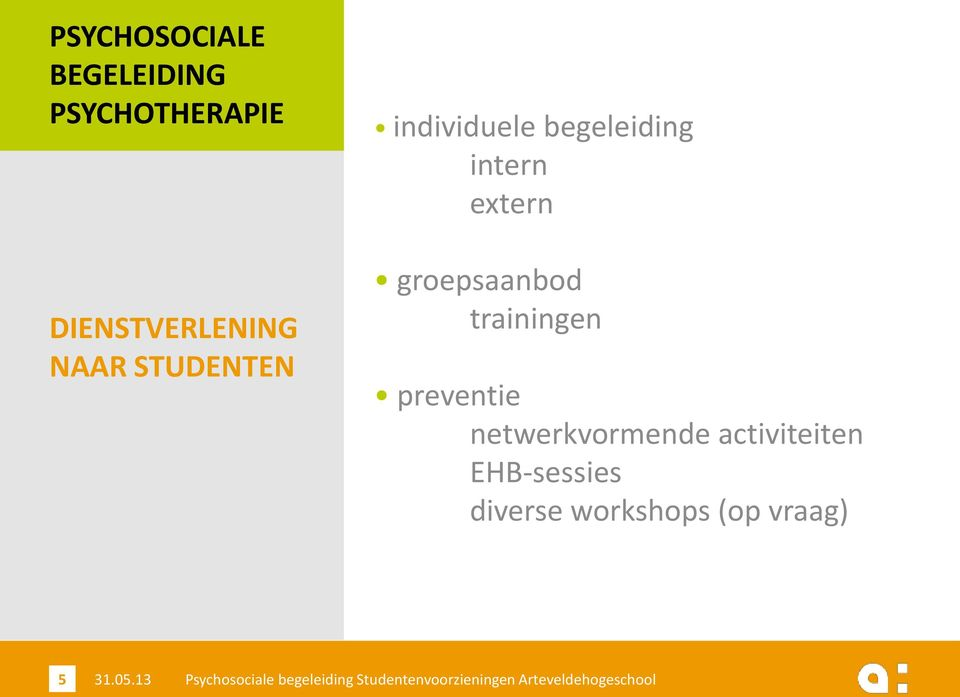 trainingen preventie netwerkvormende