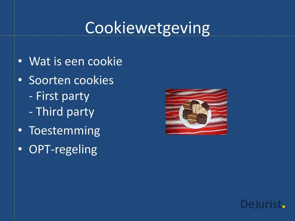 cookies - First party -