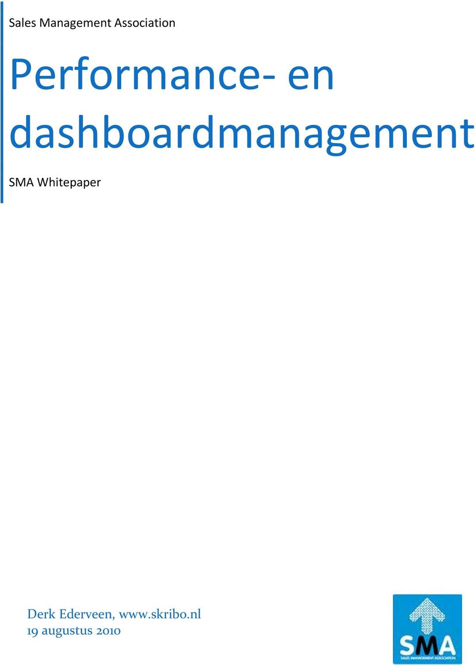 dashboardmanagement SMA