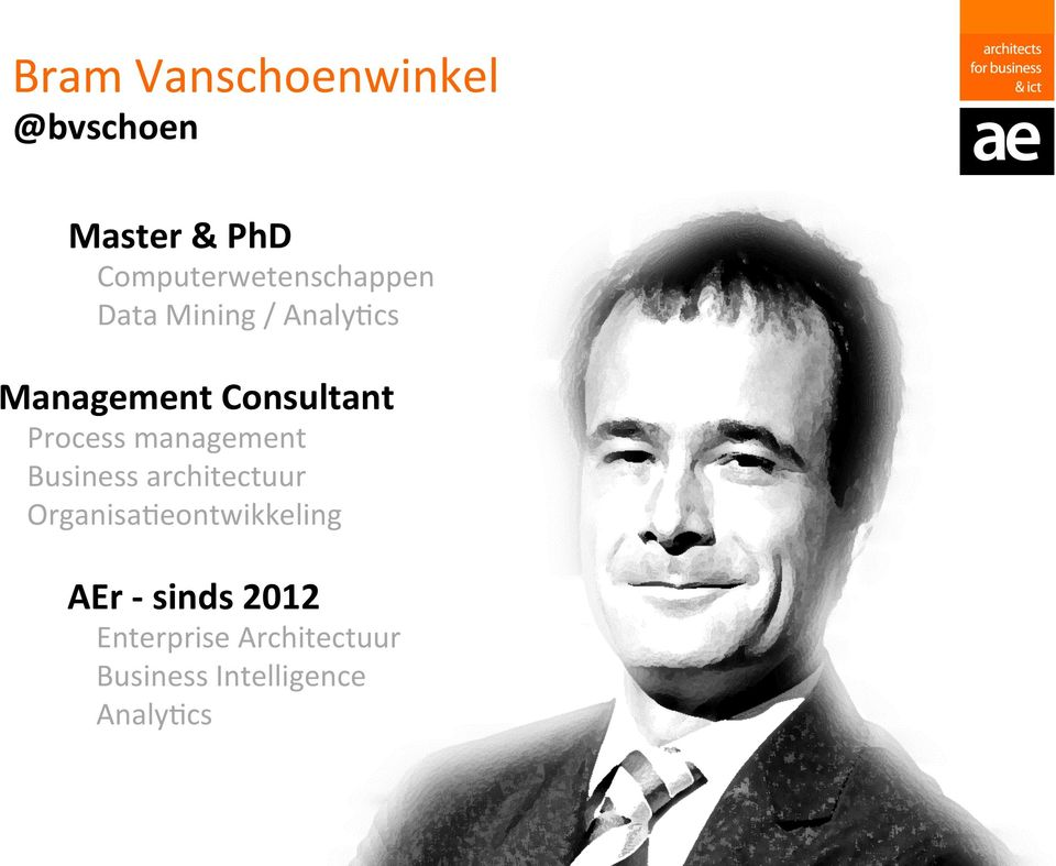 Consultant Process management Business architectuur