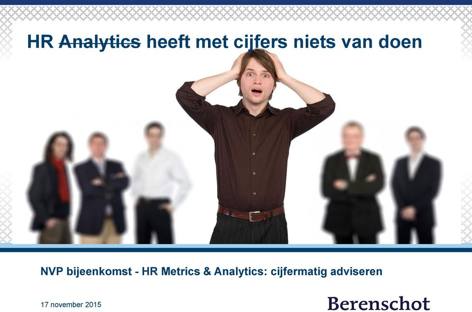 - HR Metrics & Analytics: