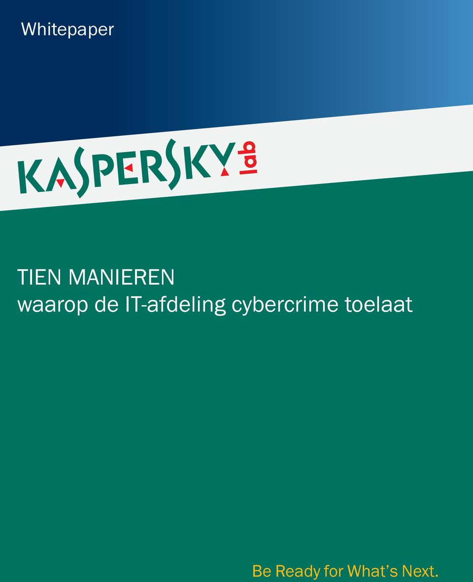 IT-afdeling cybercrime