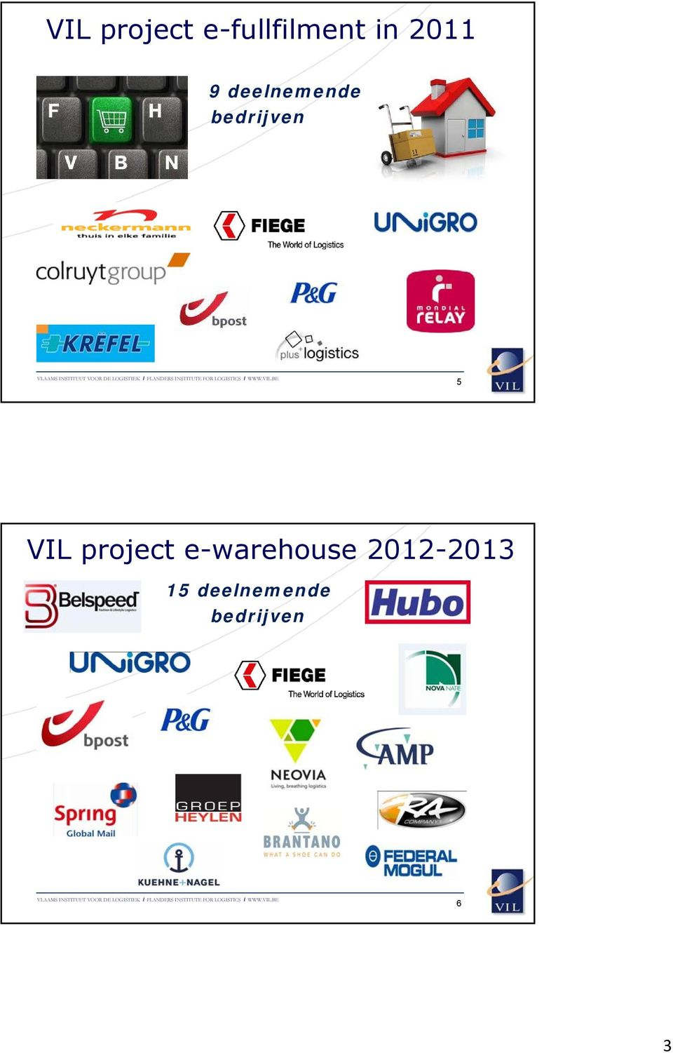 5 VIL project e-warehouse