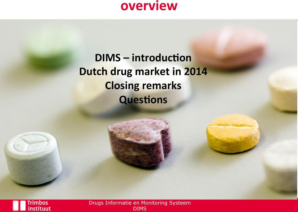 drug market in