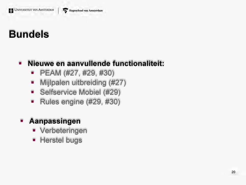 (#27) Selfservice Mobiel (#29) Rules engine