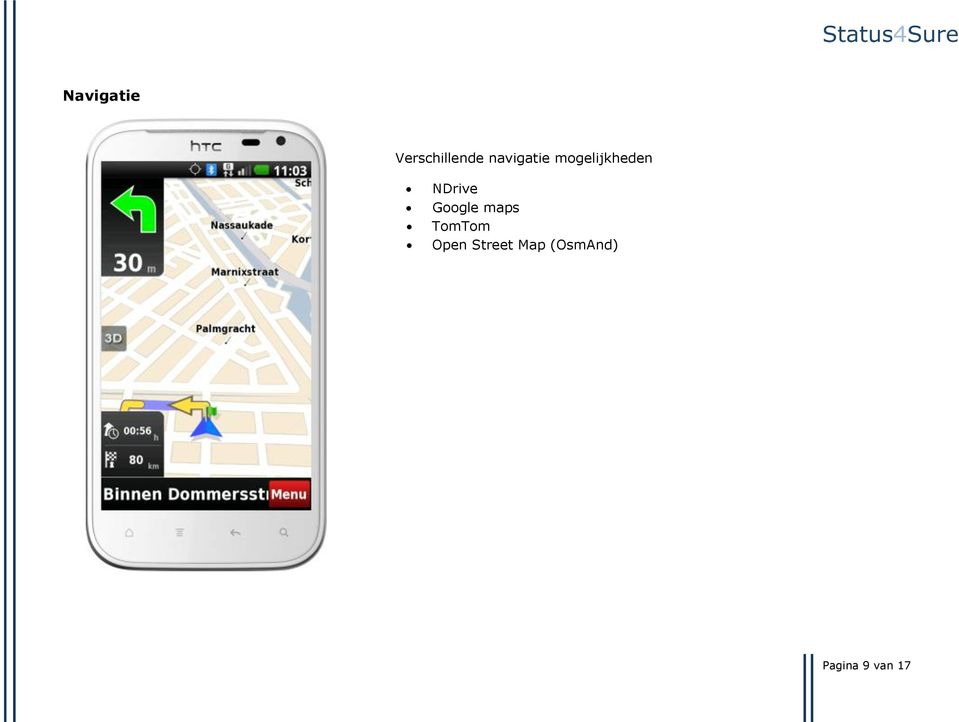 NDrive Google maps TomTom