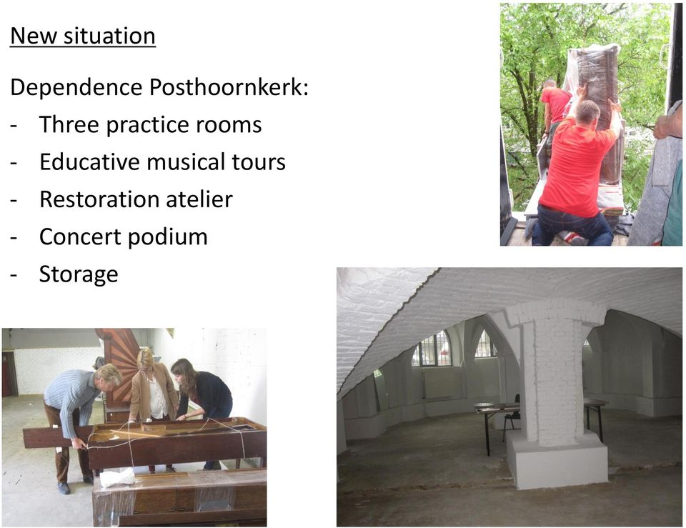 rooms - Educative musical tours -