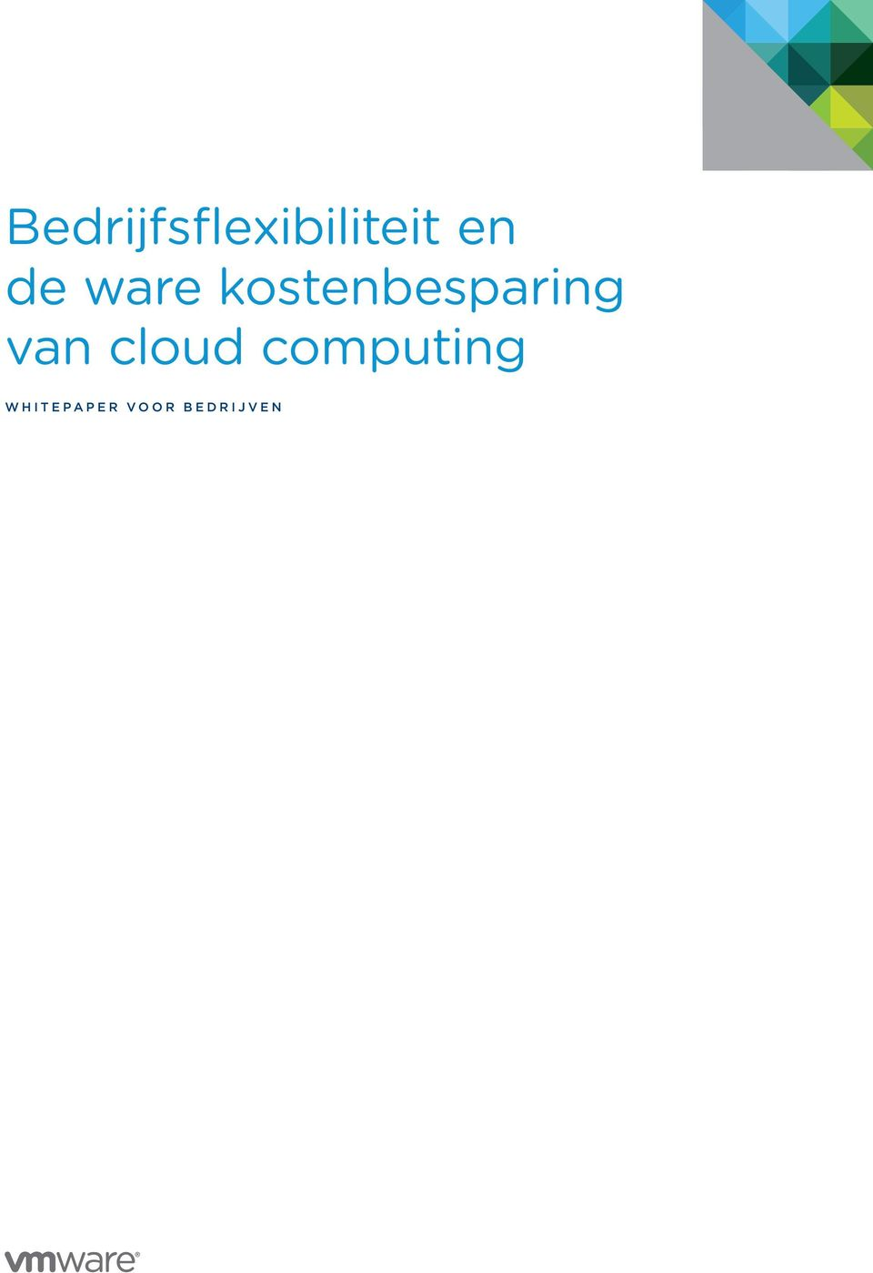cloud computing W H I T E P