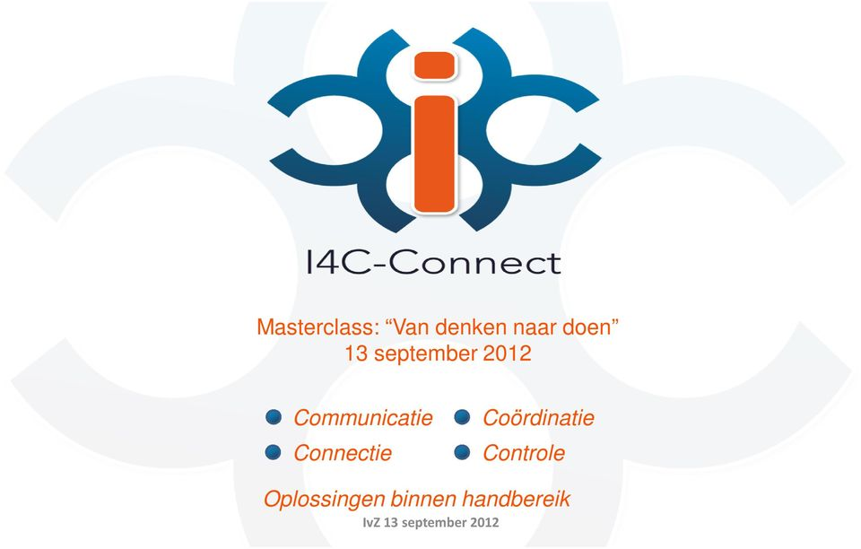 Communicatie Connectie