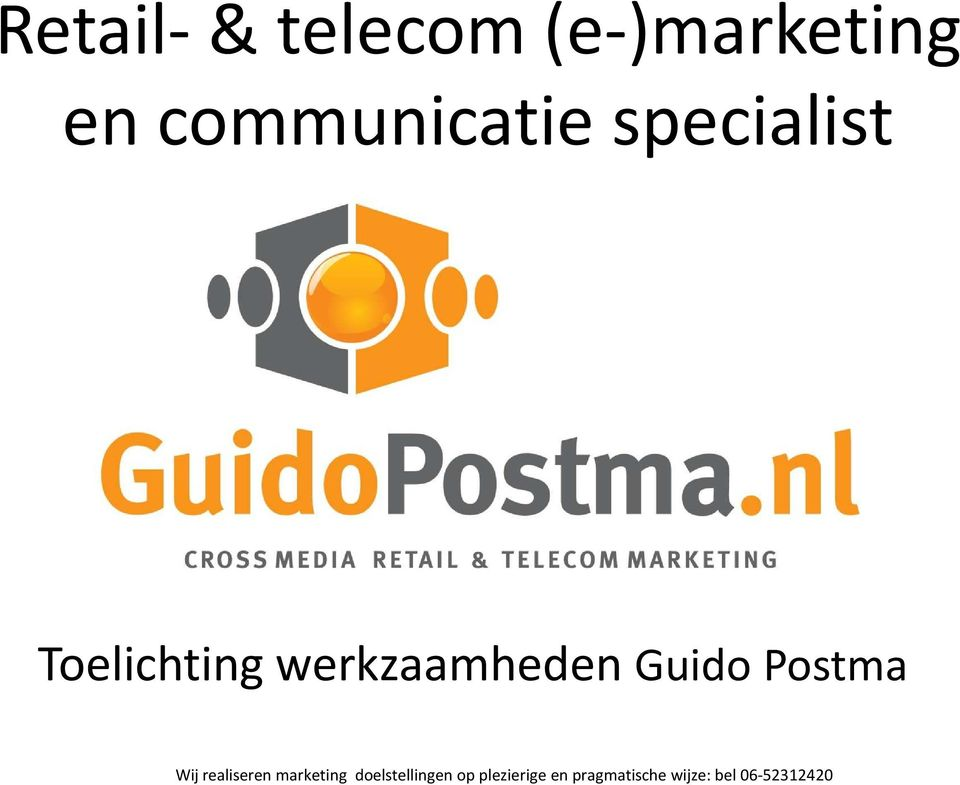 communicatie specialist