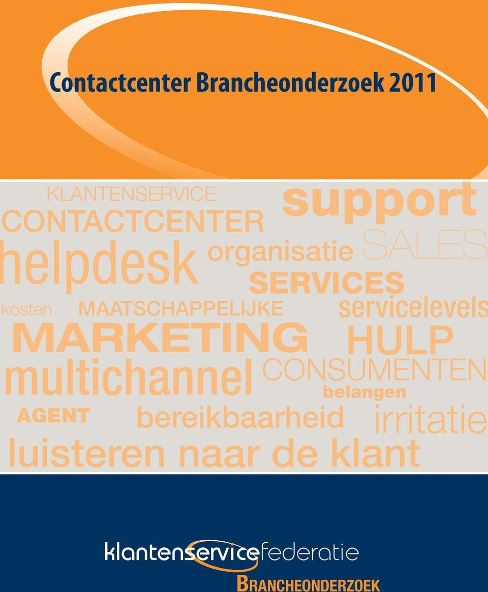 servicelevels MARKETING multichannel support HULP CONSUMENTEN