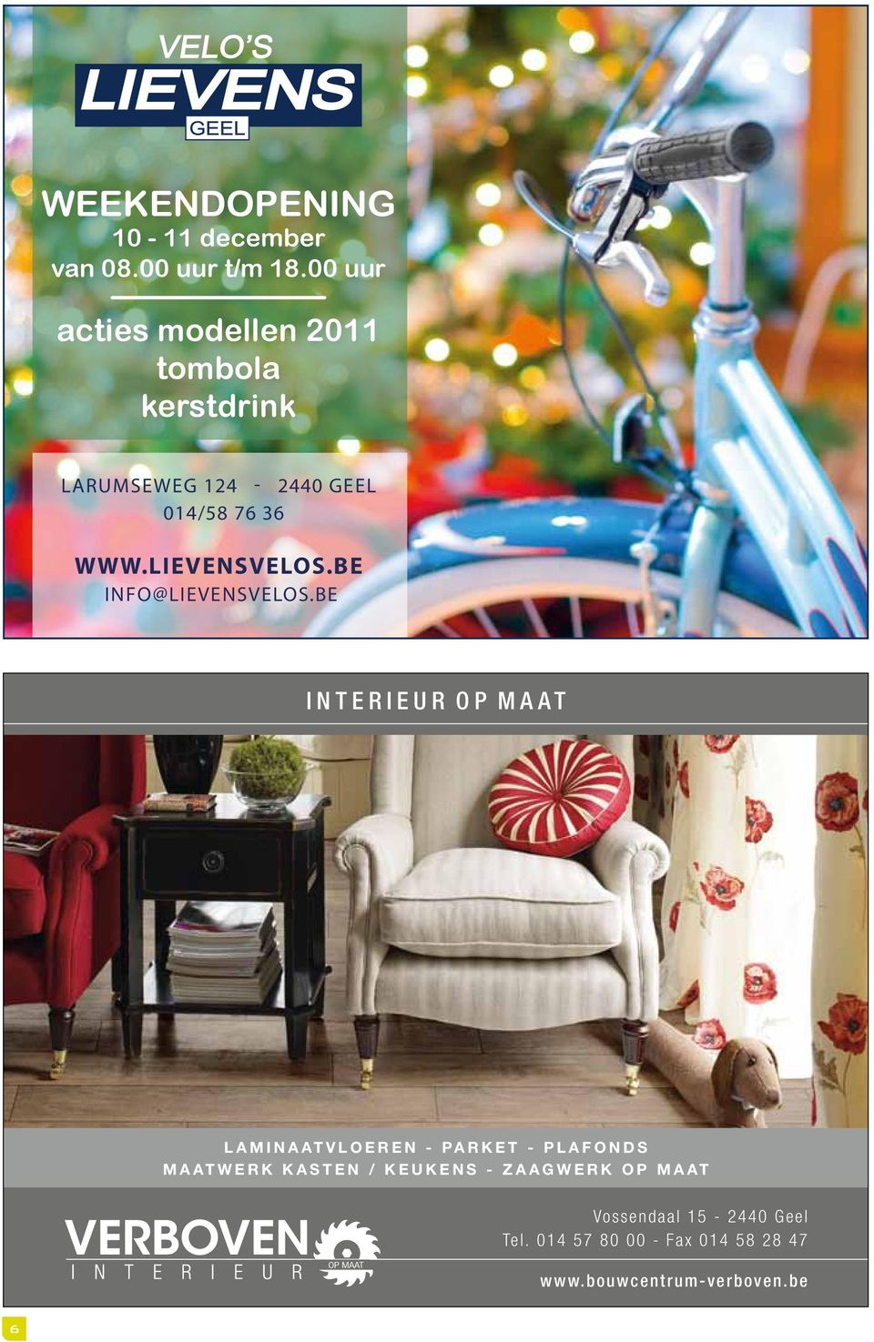 LIEVENSVELOS.BE INFO@LIEVENSVELOS.