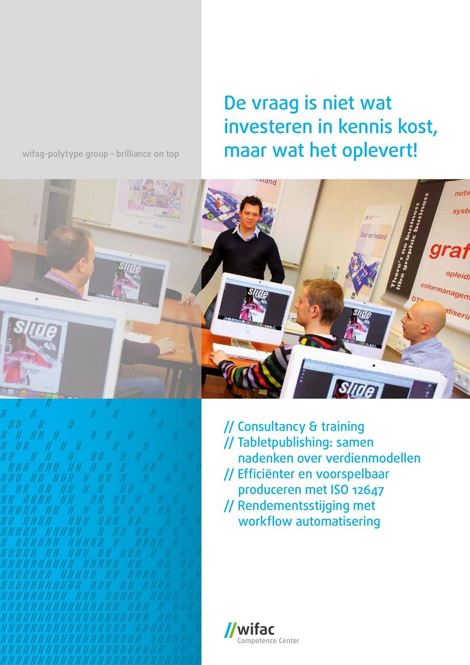 // Consultancy & training // Tabletpublishing: samen nadenken over