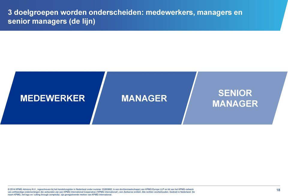 managers en senior managers