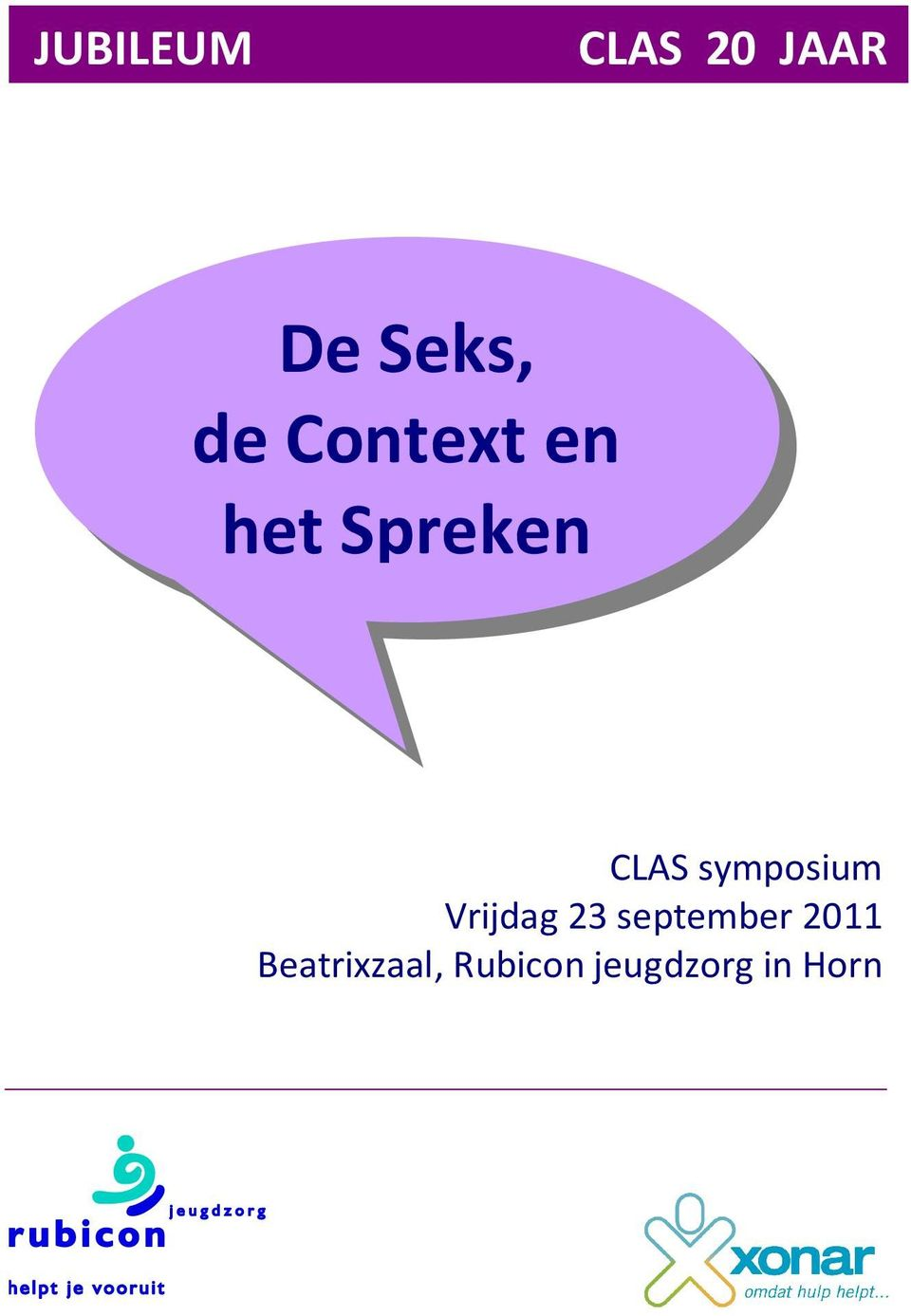 symposium Vrijdag 23 september