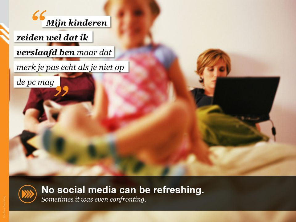 mag InSites Consulting No social media can be