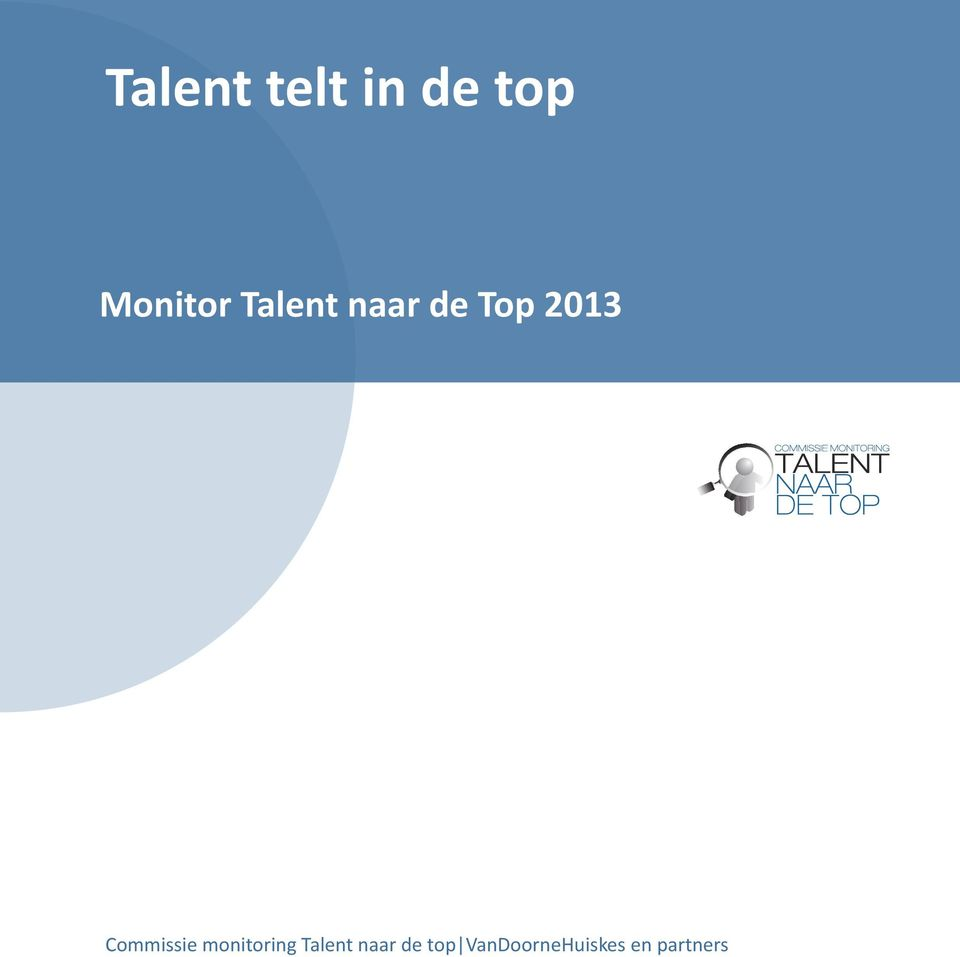 Commissie monitoring Talent