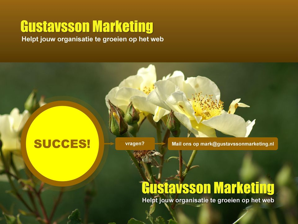 Mail ons op mark@gustavssonmarketing.