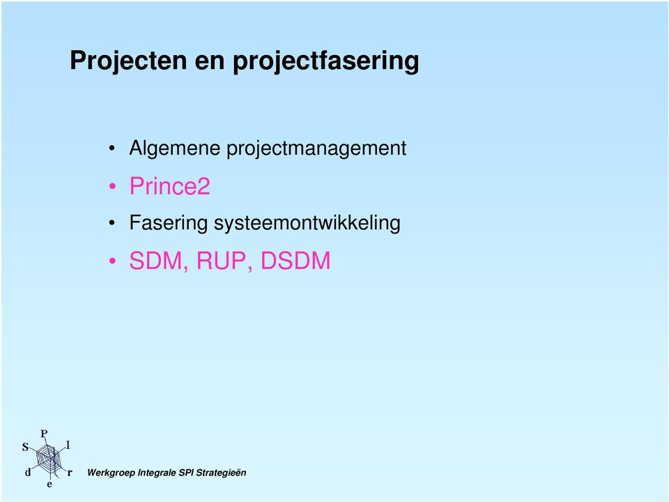 projectmanagement Prince2