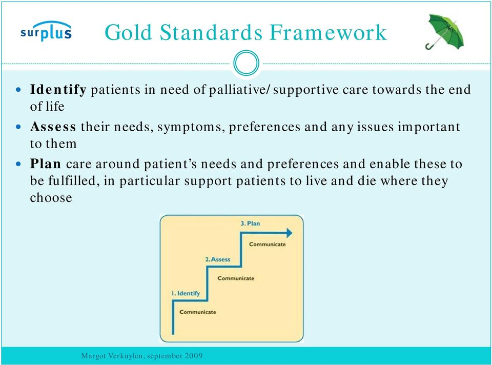 important to them Plan care around patient s needs and preferences and enable