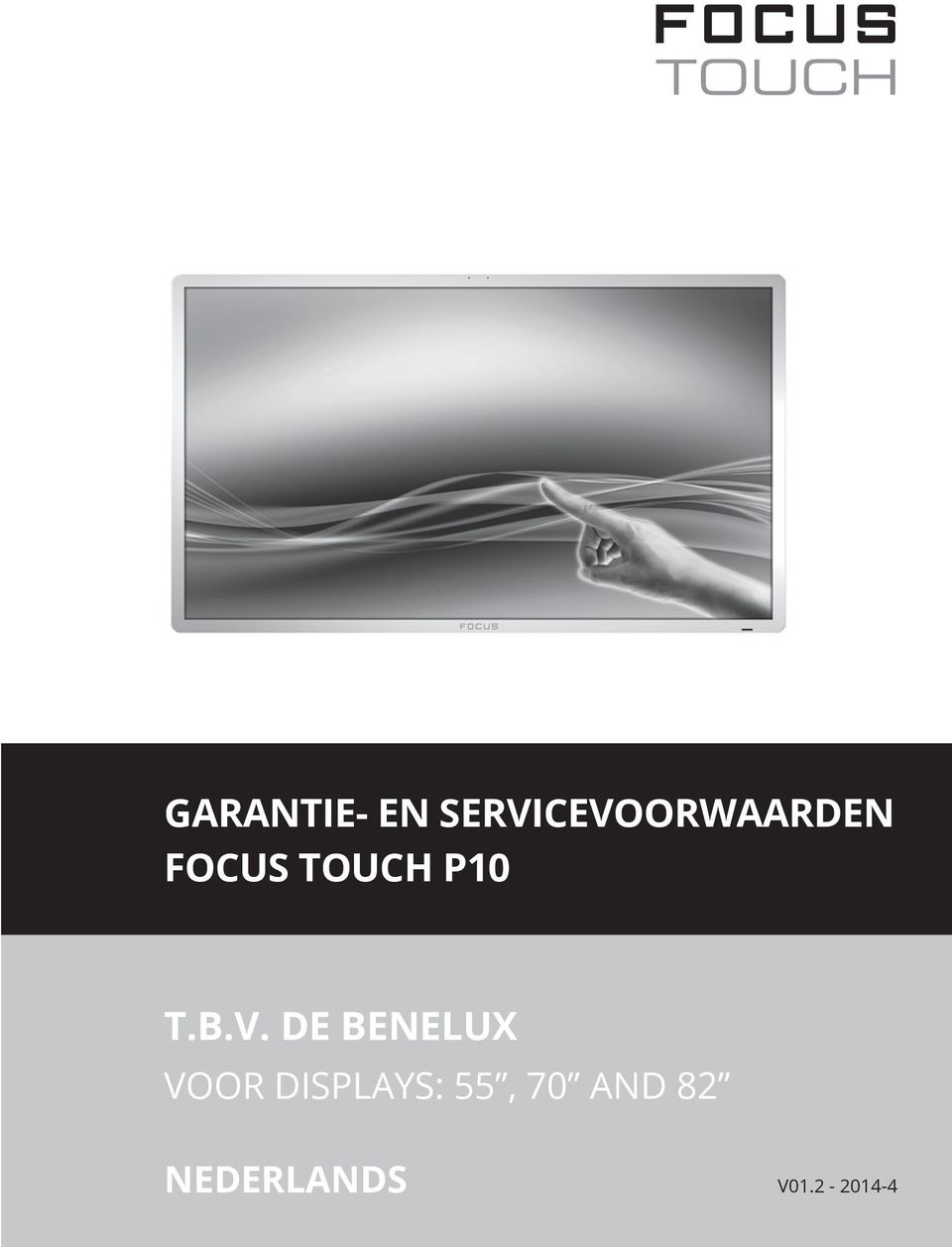 touch P10 t.b.v.
