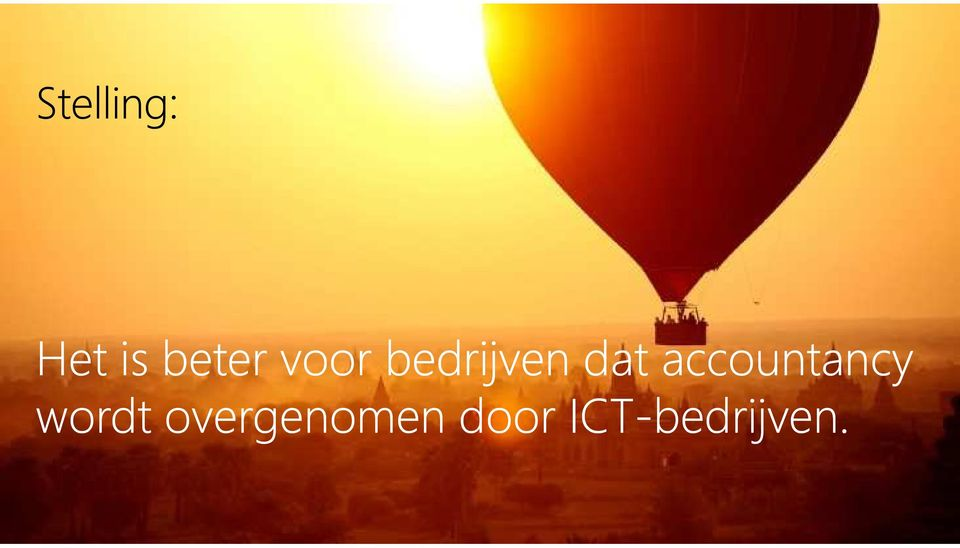 accountancy wordt