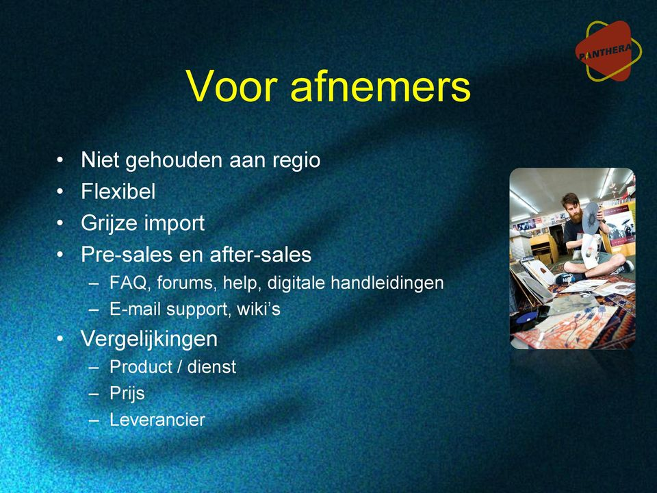 forums, help, digitale handleidingen E-mail