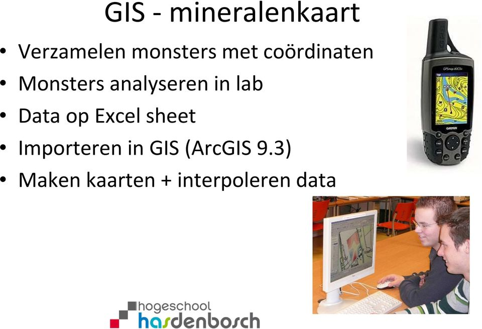 lab Data op Excel sheet Importeren in GIS