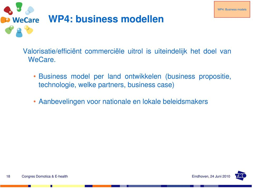Business model per land ontwikkelen (business propositie,