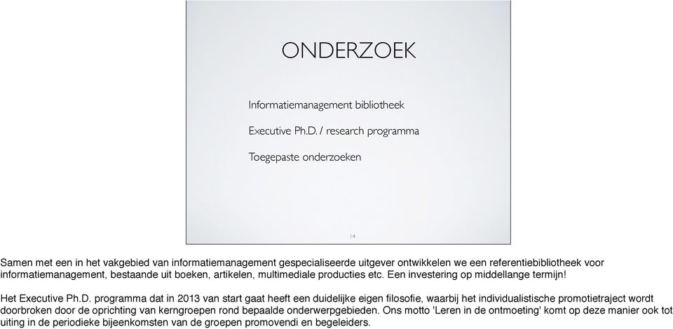 Het Executive Ph.D.