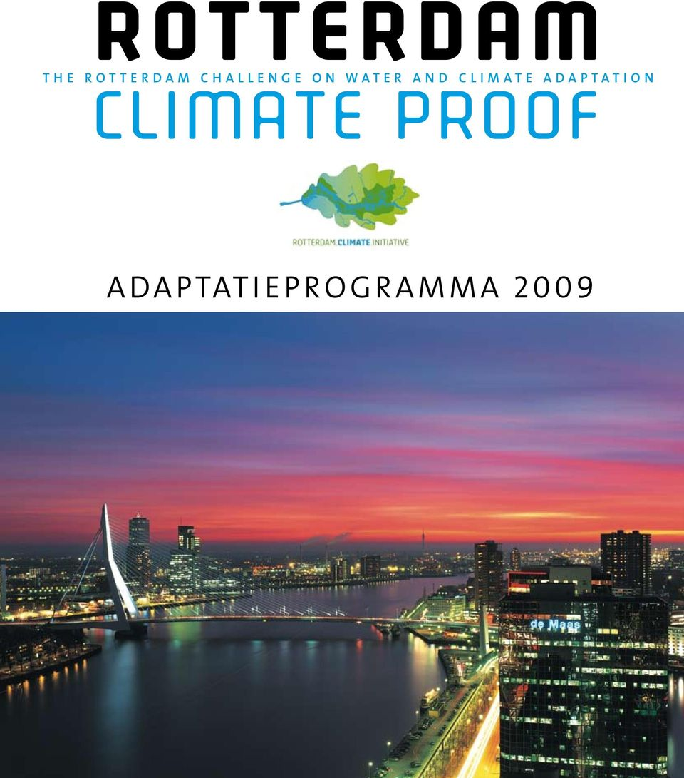 proof adaptatieprogramma 2009