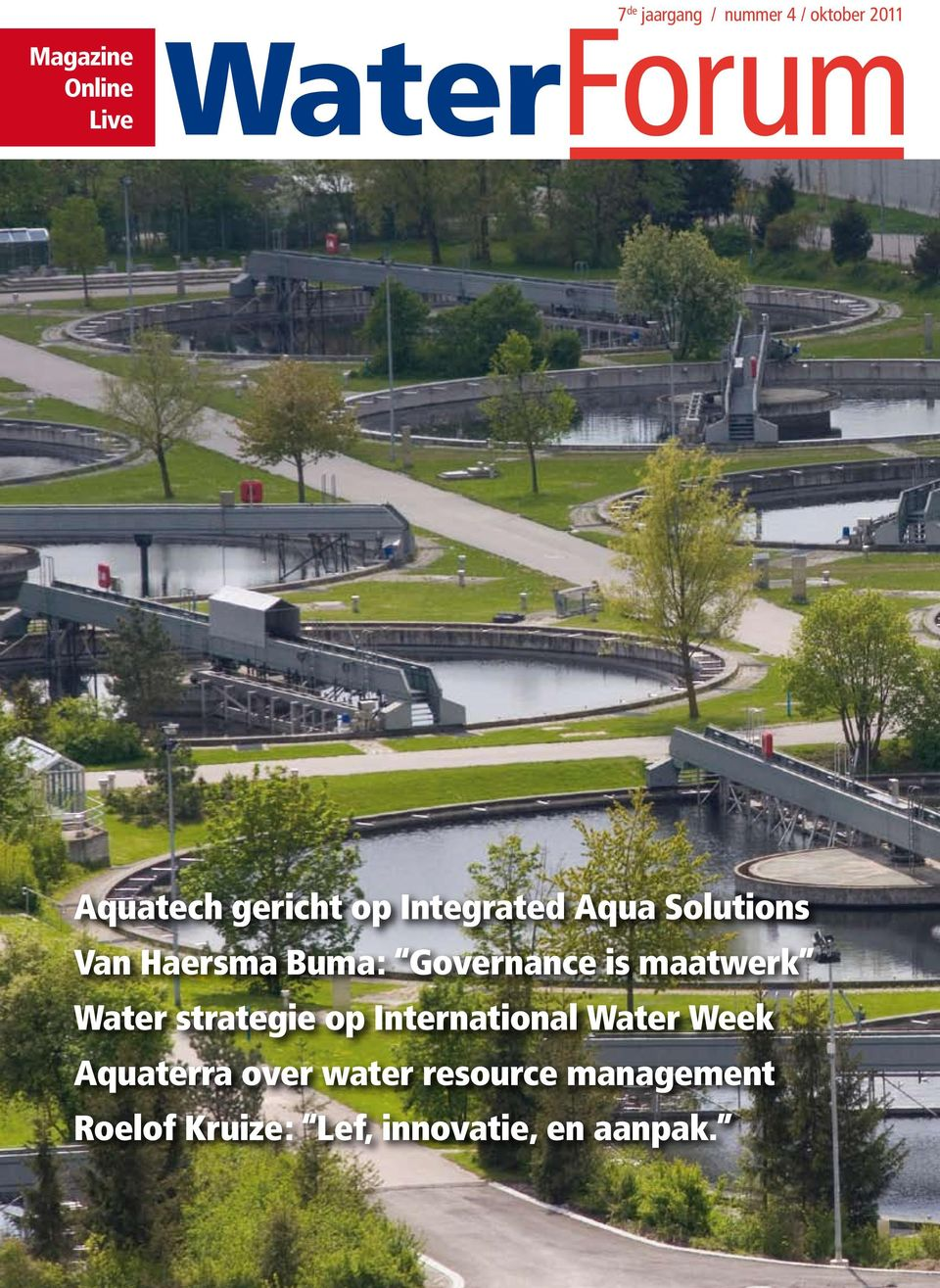 Governance is maatwerk Water strategie op International Water Week