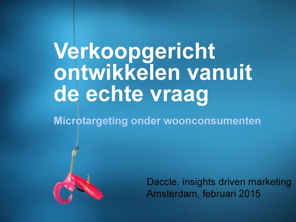 woonconsumenten Daccle, insights