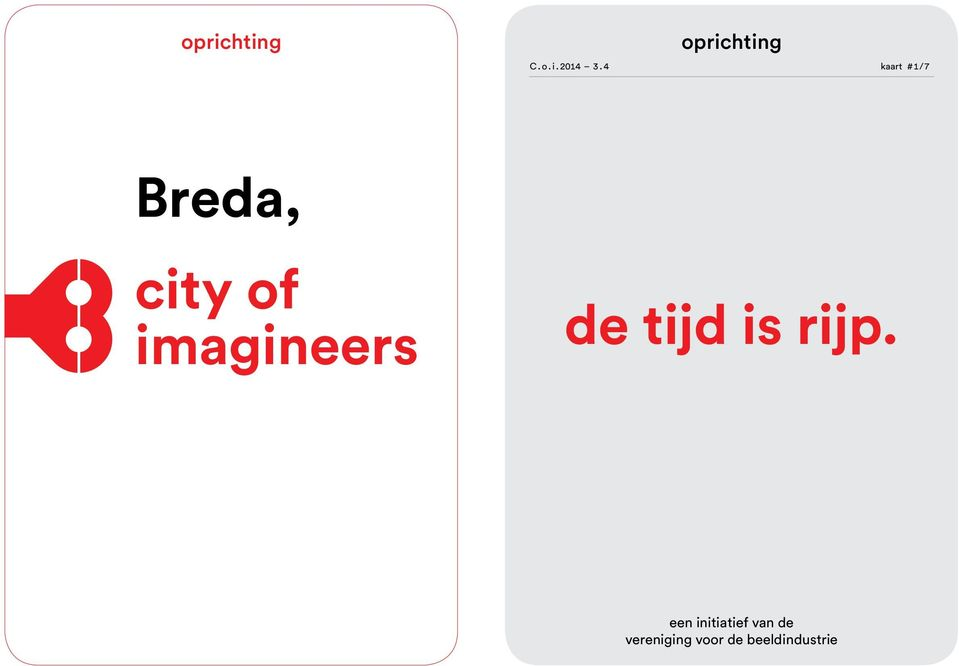imagineers de tijd is rijp.