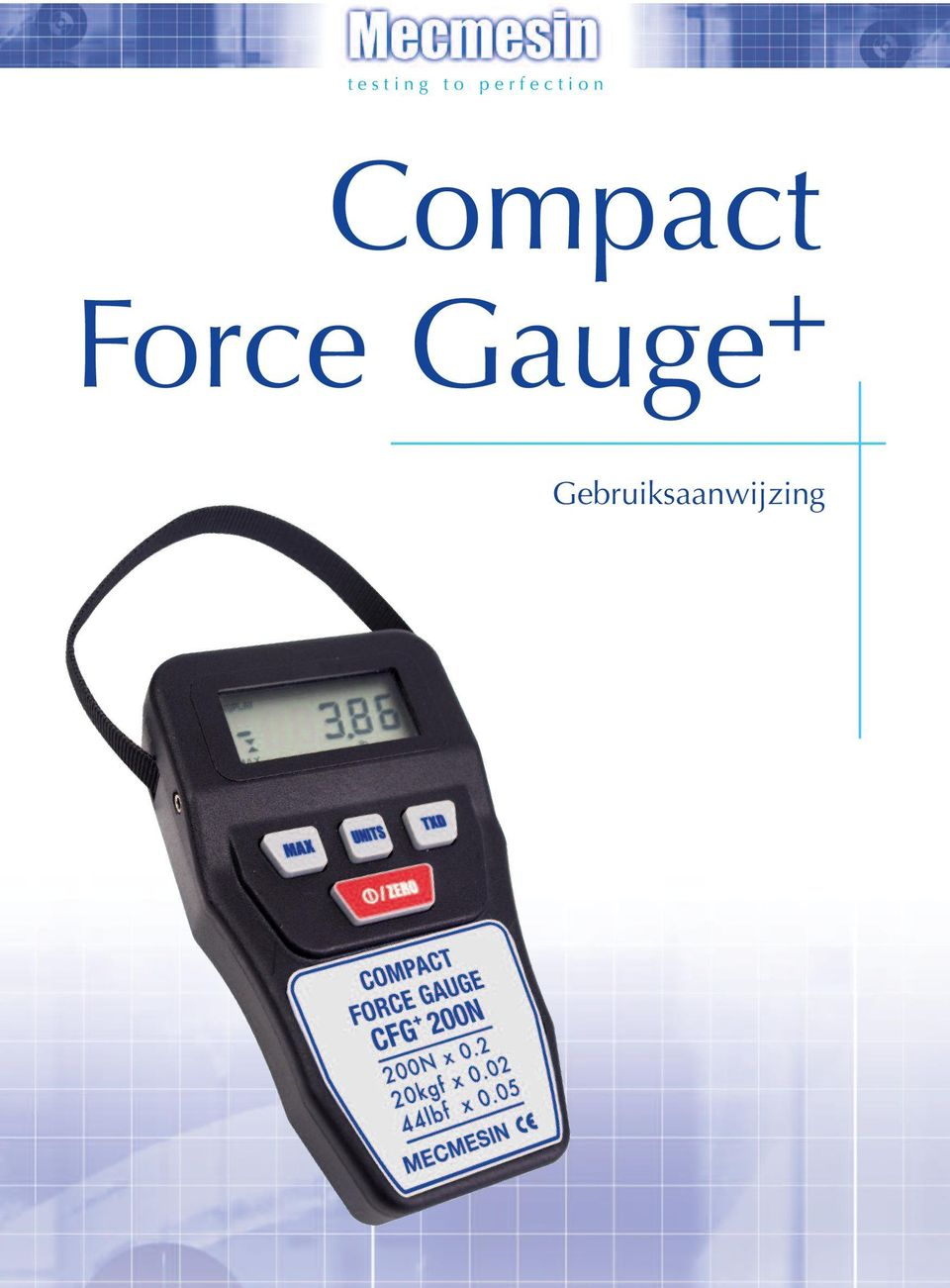 Compact Force Gauge